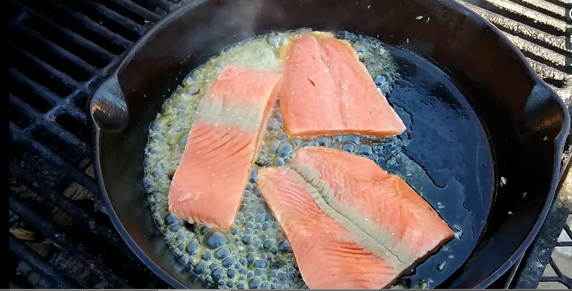 cast Iron Salmon