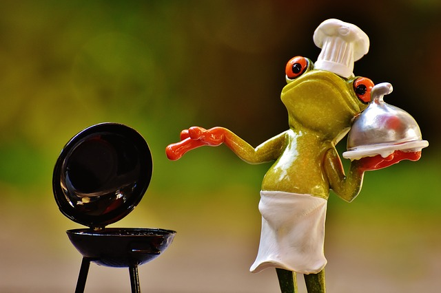 Frog and BBQ Grill